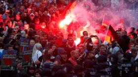 """Declaran """"emergencia nazi"""" por extremismo en Dresde, Alemania"""