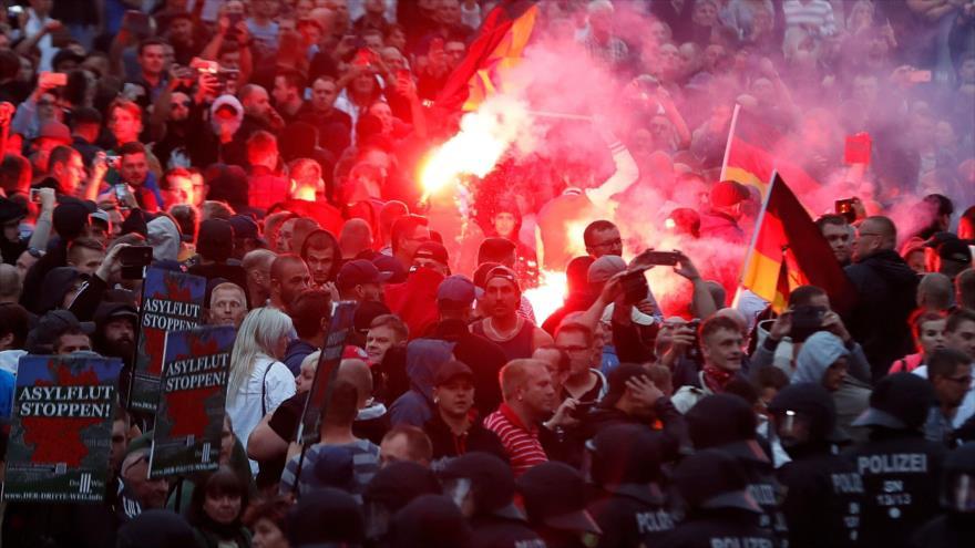 "Declaran ""emergencia nazi"" por extremismo en Dresde, Alemania   HISPANTV"