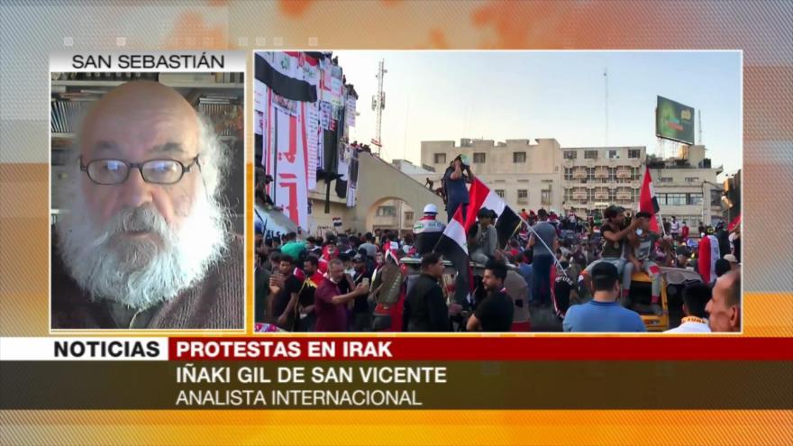 Gil: EEUU, Israel y Riad desestabilizan Irak por su petróleo