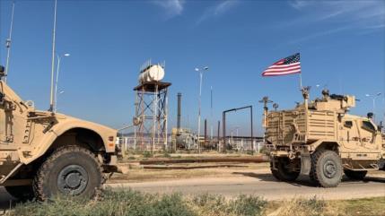 Fotos y Vídeo: Fuerzas de EEUU en campos petrolíferos de Siria