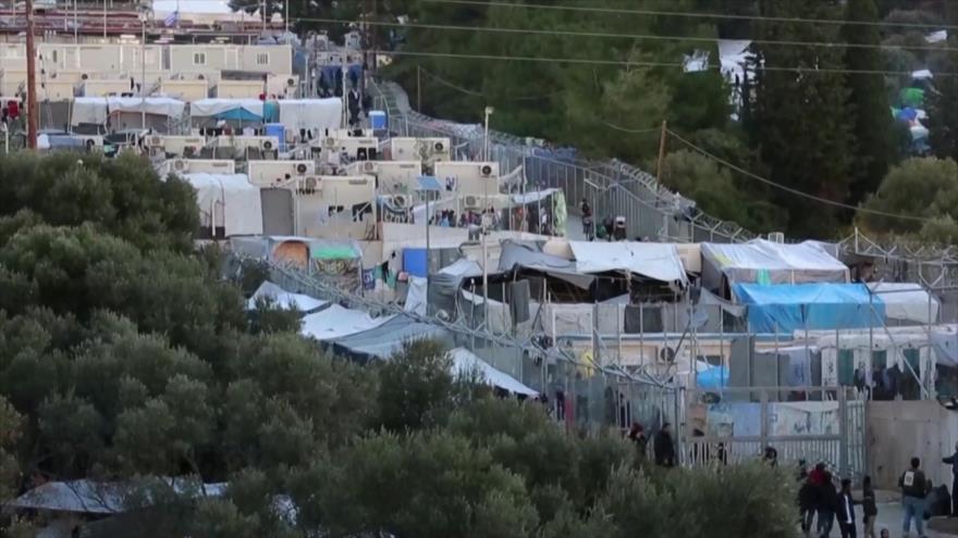 El flujo de refugiados y el lento proceso de solicitud en Grecia