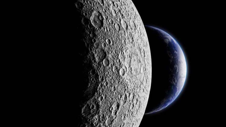 China construye zona económica entre la Luna y La Tierra.