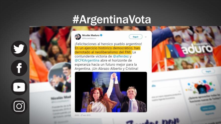 Etiquetaje: Peronismo regresa al poder en Argentina