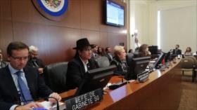 Bolivia denuncia ante la OEA un golpe de Estado en curso
