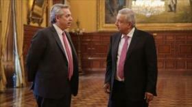 Alberto Fernández y AMLO en pro de integración de América Latina