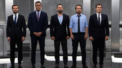 Debate de candidatos a la Presidencia del Gobierno de España
