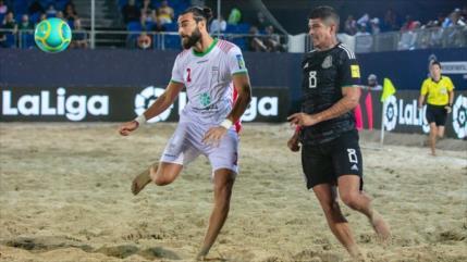 Irán vence a México 7-4 en la Copa Intercontinental de Fútbol Playa