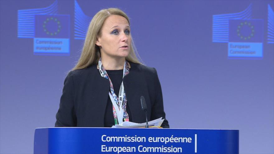 Maja Kocijancic, portavoz de la Diplomacia europea.