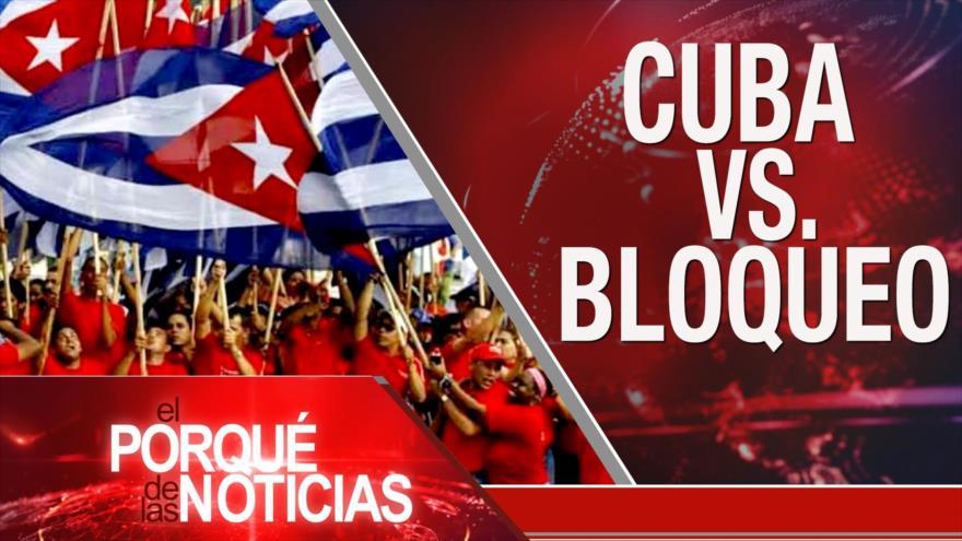 El Porqué de las Noticias: Acuerdo nuclear iraní. Bloqueo contra Cuba. Crimen organizado en México