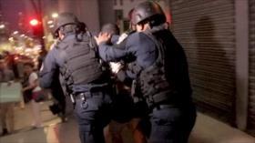 Denuncian abuso de fuerza policial durante protestas en Panamá