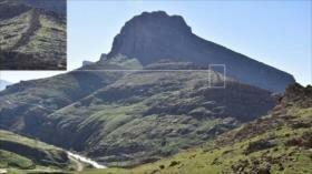 Hallan antiguo muro de piedra en Irán de origen desconocido