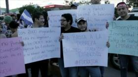 En Honduras disminuyen las protestas por temor al Gobierno