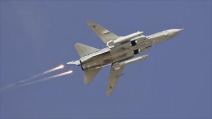 Rusia y Siria lanzan 40 ataques contra terroristas en solo un día