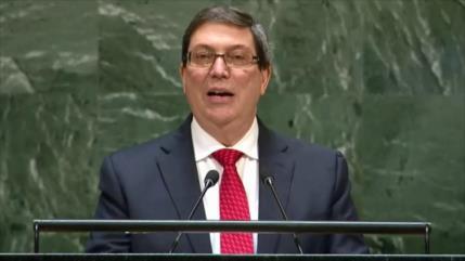Cuba: El propósito de EEUU es asfixiar la economía de nuestro país