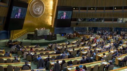 ONU vota a favor de levantar el bloqueo de EEUU contra Cuba