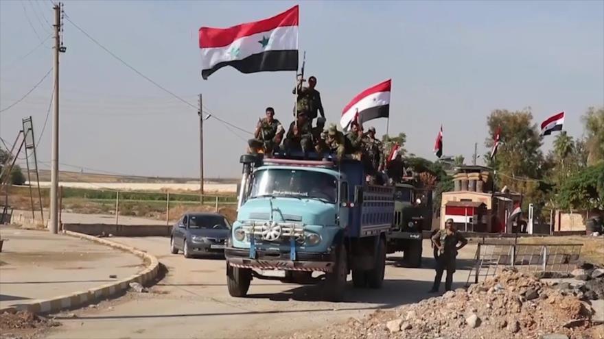 Ejército sirio planea recuperar yacimientos petroleros en el norte