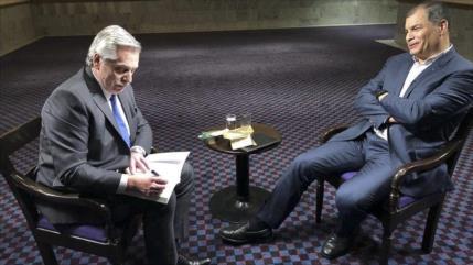 "Fernández considera al FMI ""cómplice"" de crisis económica argentina"