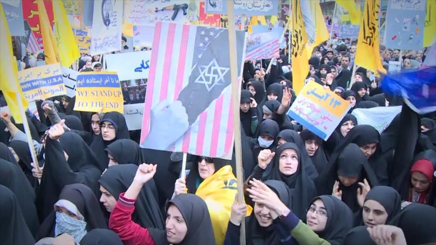 Irán Hoy: Aniversario de la toma de la embajada de EEUU en Teherán 2019