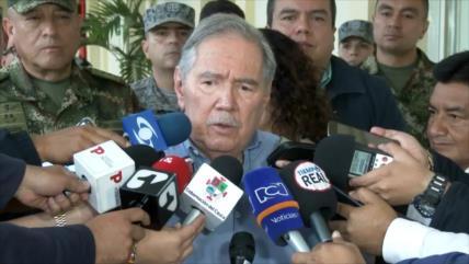 Renuncia el ministro de Defensa de Colombia