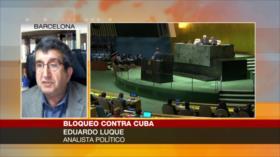 Analistas abordan votación en ONU contra bloqueo de EEUU a Cuba
