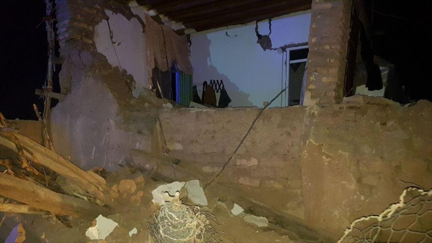 Un seísmo de 5,9 grados en Irán deja 6 muertos y 350 heridos