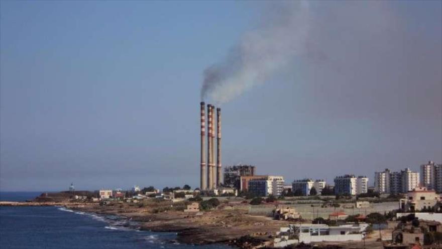 Vista general de la refinería de petróleo de Banias, en el oeste de Siria.