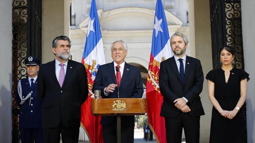 Piñera ofrece nuevas medidas para hacer frente a las protestas