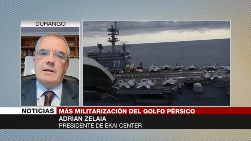 Zelaia: Coalición naval de EEUU desestabilizará Oriente Medio