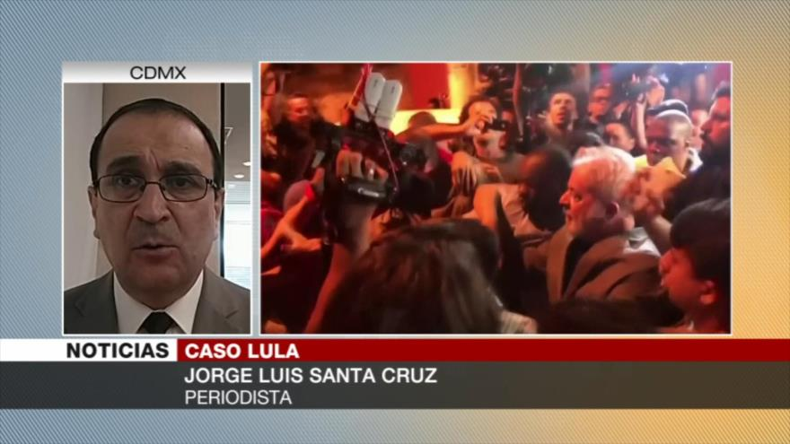 Santa Cruz: Liberación de Lula debilitará a Bolsonaro en Brasil