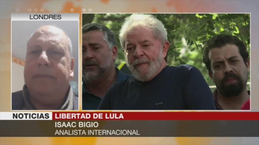 Bigio: Liberación de Lula va a ser un fuerte golpe contra Bolsonaro