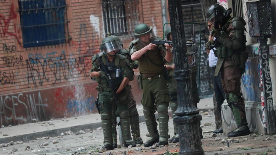 Chile vive la 'tercera marcha más grande' contra Piñera