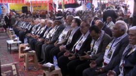 Sirios conmemoran el 15.º aniversario de la muerte de Yaser Arafat
