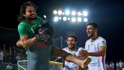 Irán vence a Emiratos y va a final de fútbol playa