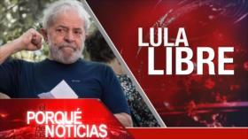 El Porqué de las Noticias: Liberación de Lula da Silva. Rusia critica a EEUU por Irán. Elecciones en España