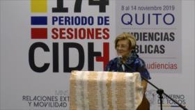 CIDH sesiona por primera vez en Ecuador en medio de controversias