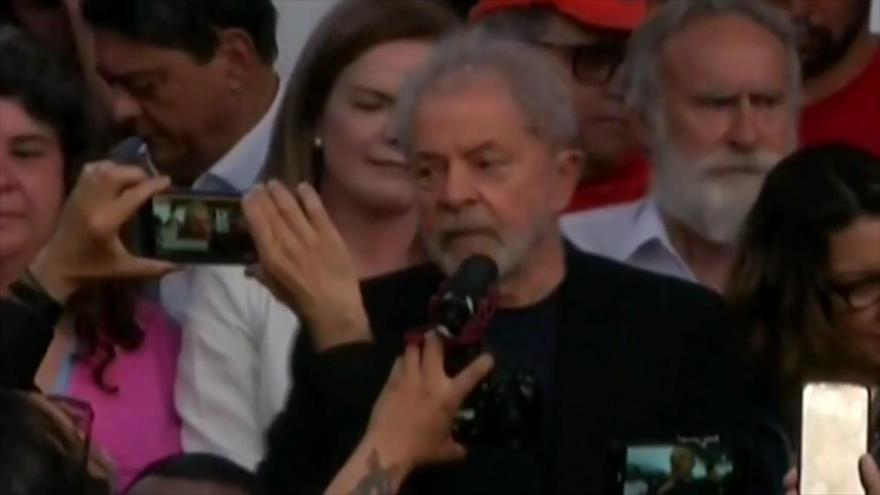 Liberación de Lula. Pacto nuclear iraní. Elecciones en España