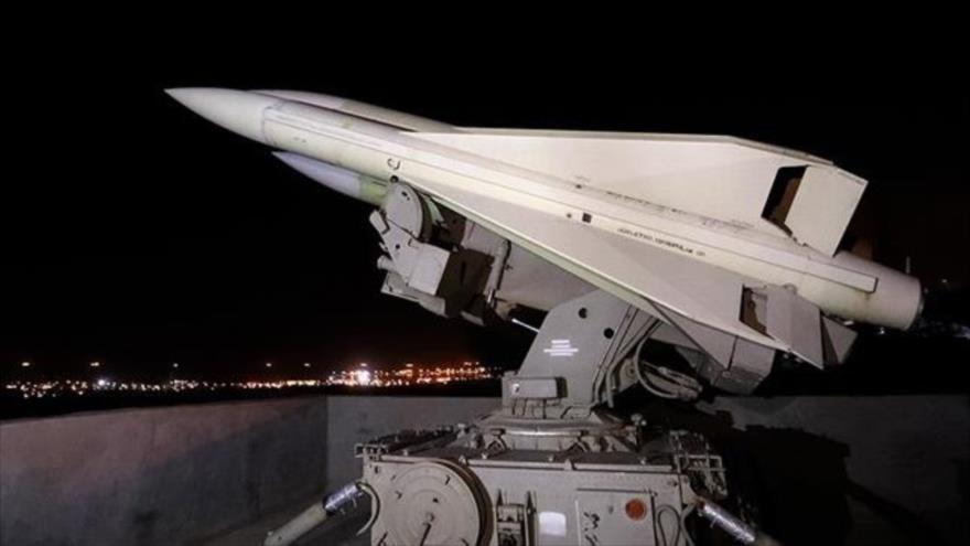Un sistema de defensa aérea iraní Mersad.