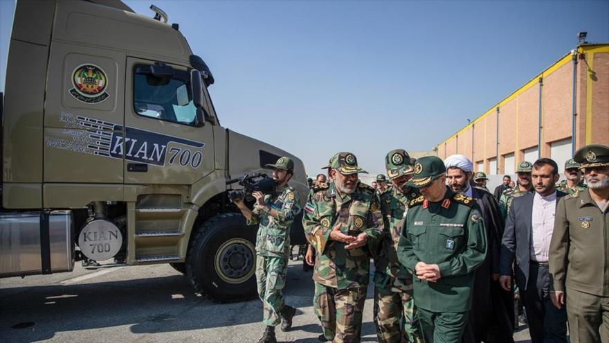 'Fuerza Terrestre del Ejército, piedra angular de la seguridad de Irán'