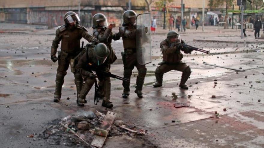 Vídeo: Escalofriante récord dejado por la represión en Chile