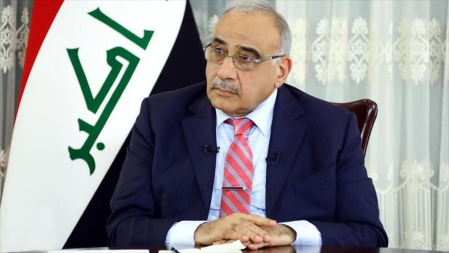 El primer ministro iraquí, Adel Abdul Mahdi.