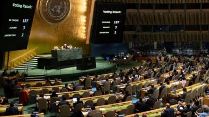 Sondeo: Condena del bloqueo a Cuba muestra aislamiento de EEUU