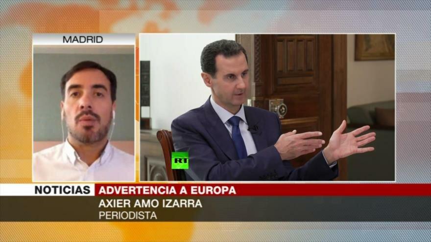 Amo: Los terroristas son un peligro para Europa, no los refugiados