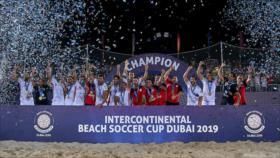 Irán se proclama campeón de Copa Intercontinental de Fútbol Playa
