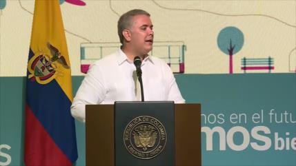 Popularidad de Iván Duque sigue en picada en Colombia