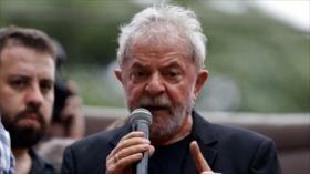 Lula pide a brasileños que sigan con lucha para cambiar el país