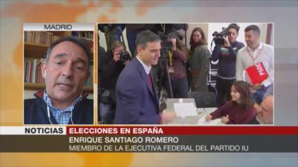 Santiago Romero: Política neoliberal en España ha creado disputa
