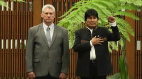 """Cuba condena """"cobarde"""" golpe de Estado contra Morales en Bolivia"""