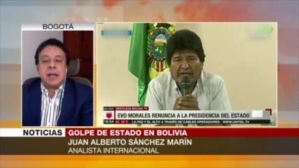 Marín: Golpe de Estado en Bolivia perjudica al país y a la región