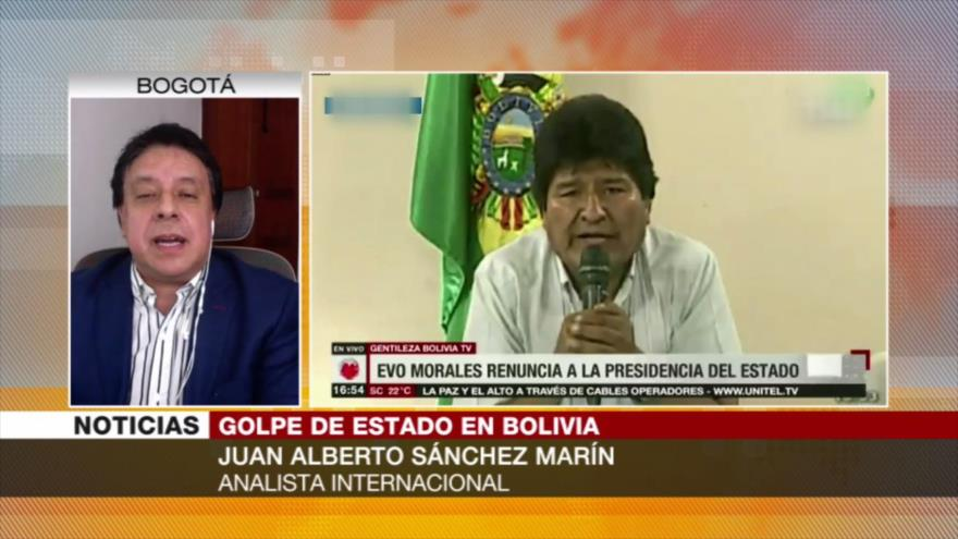 Marín: Golpe de Estado en Bolivia perjudica al país y a la región | HISPANTV