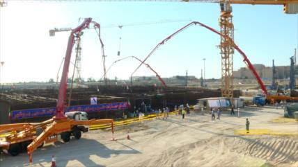 Irán comienza la 2.ª unidad de la central nuclear de Bushehr